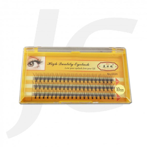Semi Eyelash MSJ Yellow Box 0.10C 10mm J71 MJ10
