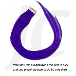 Stick In Hair Extension Real Hair 1pc Violet Blue J17SVB