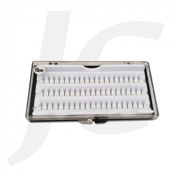 Semi Eyelash White Box 10mm J71 WX10