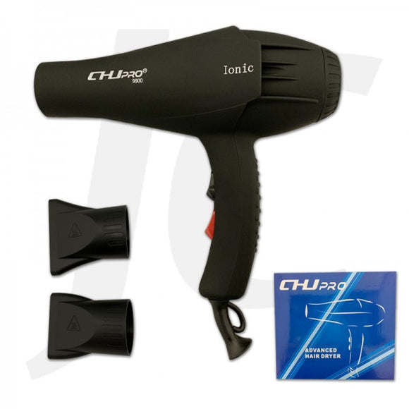 CHJ Pro 9900 Ionic Blow Dryer 2300W Black J231CJB