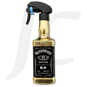 Water Sprayer Barber Shop Square Long Gold J24SLG