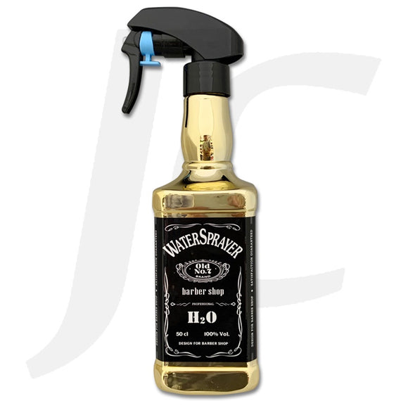 Water Sprayer Barber Shop Square Long Gold J223LA
