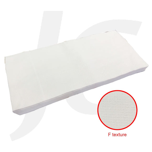 Disposable Salon Towel 30x70cm White Cotton 50pcs F Texture J26TFT
