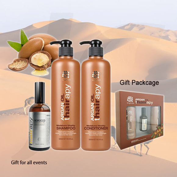Cynos Thairapy Morocco Argan Oil Gift Pack G Set O1S5C5 Set J13 CAGX*