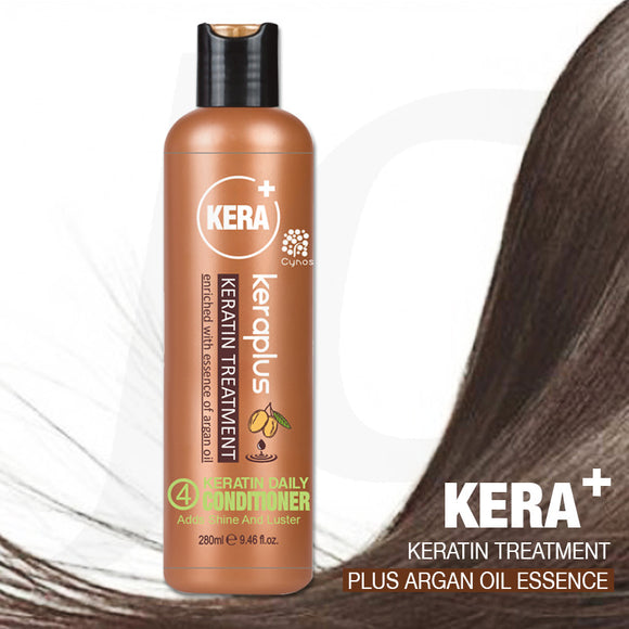 Cynos Keraplus Keratin No.4 Daily Conditioner 280ml J16 KP4*