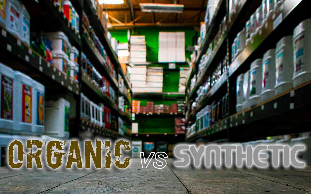 Organic vs. Synthetic Nutrients