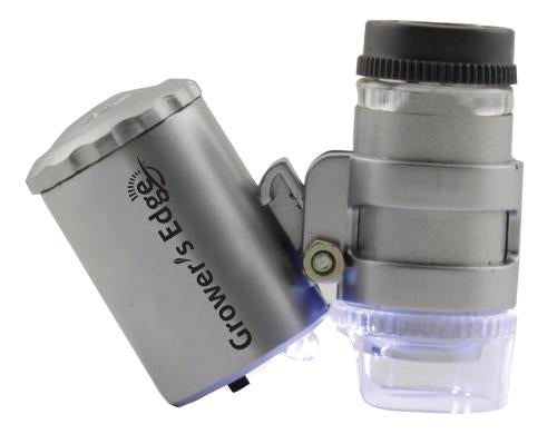 Grower's Edge® Illuminated Microscope (60x)