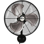 Hurricane Pro High Velocity Oscillating Metal Wall Mount Fan (20 in)