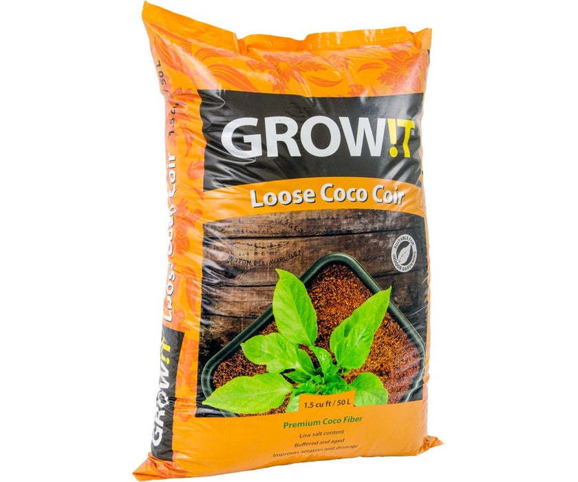 GROW!T Coco Coir, Loose (1.5 cu ft)-PALLETS ONLY(90)
