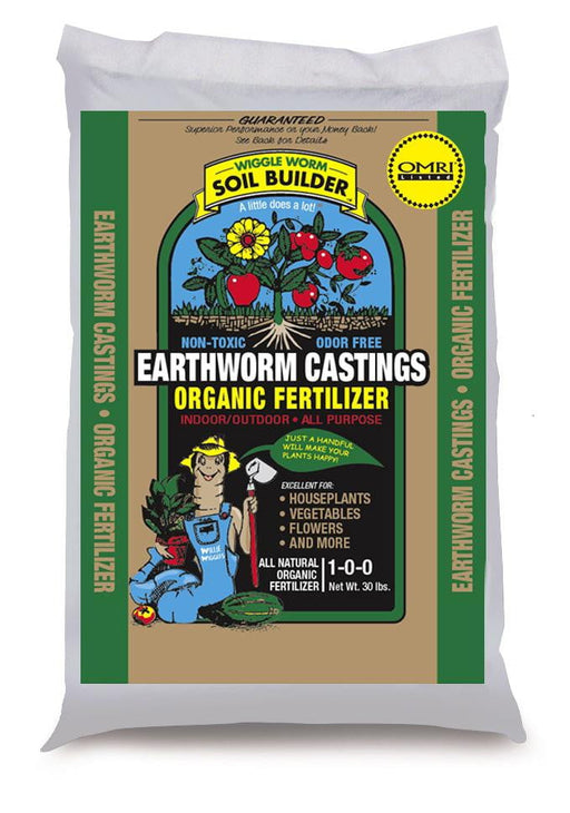 Wiggle Worm Earthworm Castings (30#)-PALLETS ONLY(75)
