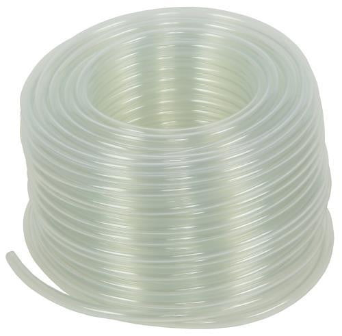 Hydro Flow Vinyl Tubing Clear 3/16 in ID - 1/4 in OD 100 ft Roll