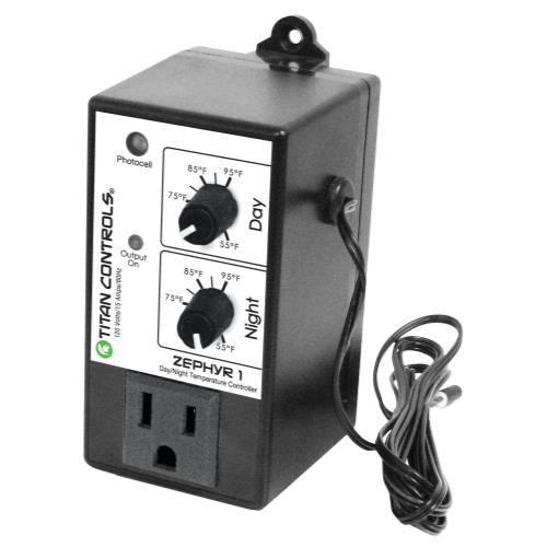 Titan Controls® Zephyr™ 1 - Day/Night Temperature Controller