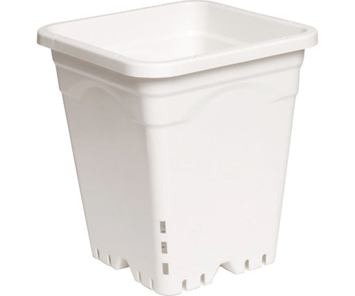 "Active Aqua Square White Pot ( 9"" x 9"" x 10"")"