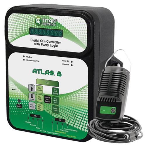 Titan Controls® Atlas® 8 - Digital CO2 Controller with Fuzzy Logic