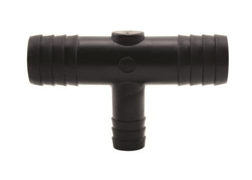 "Hydro Flow Barbed Reducer Tee (3/4"" to 1/2"")"