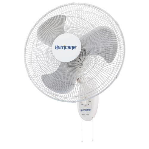 Hurricane Supreme Oscillating Wall Mount Fan (18 in)