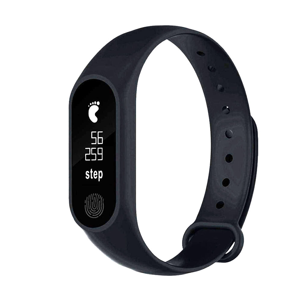 M2 Smart Sports Bracelet Heart Rate Monitor Black