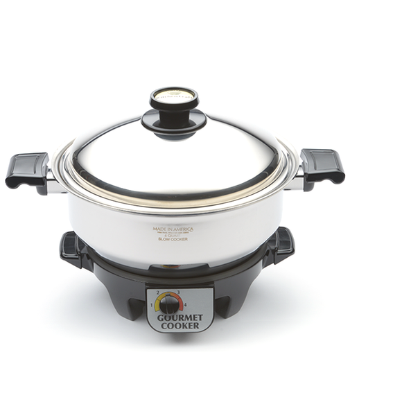 6 Quart Gourmet Cooker with Base