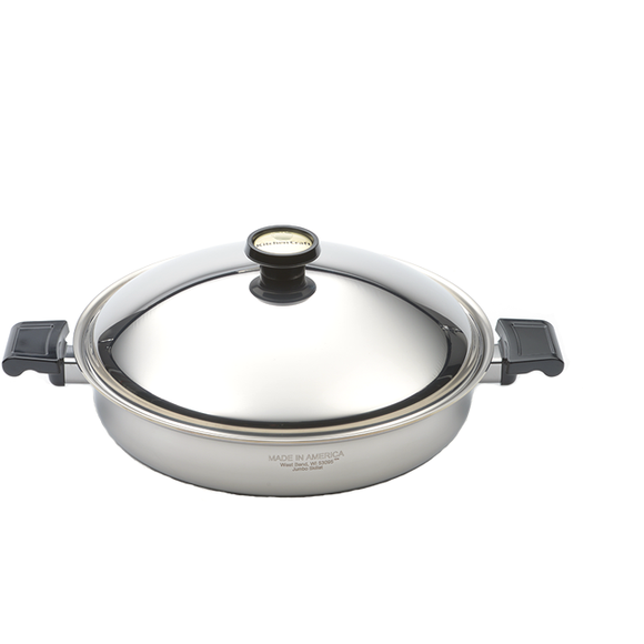 Jumbo/Paella Skillet with Cover