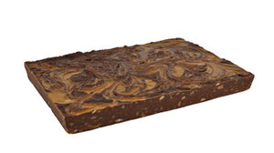 Dark Chocolate Caramel Toffee Fudge Buy 1 LB get 1/2 LB of Chocolate Fudge FREE!