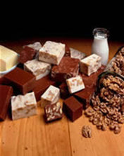 Load image into Gallery viewer, Butterscotch Fudge Buy 1 LB get 1/2 LB of Chocolate Fudge FREE!