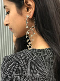 Glitzy Ring Earrings