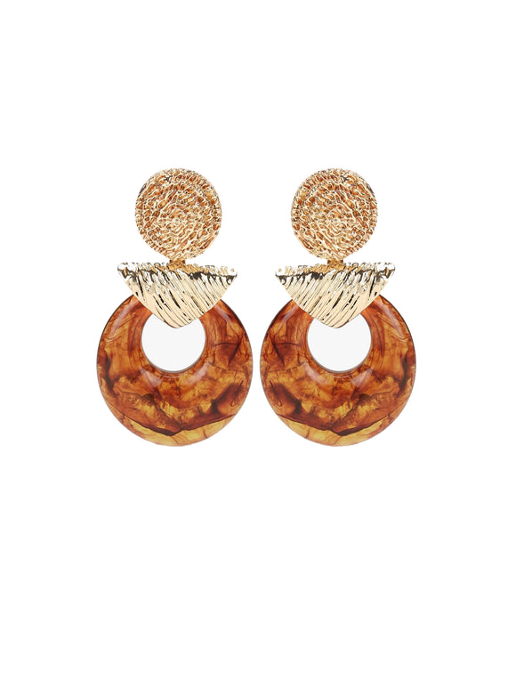 Statement Tawny Earrings