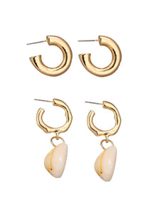 Shell Earring Set