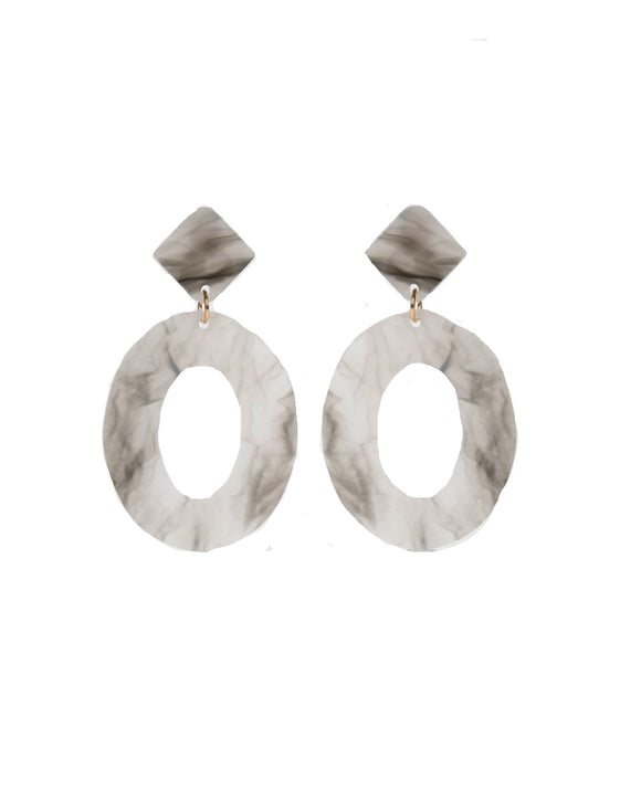 Marble Acrylic Earrings