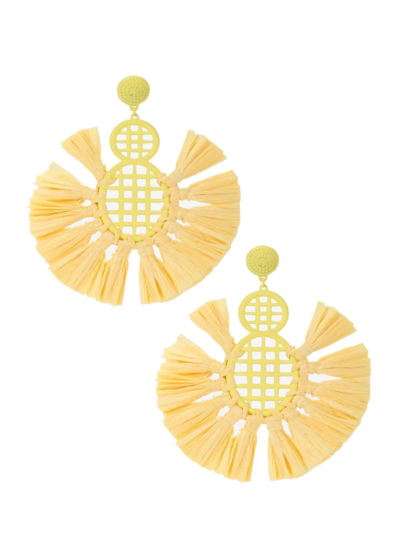 Brighten Up Yellow Earrings