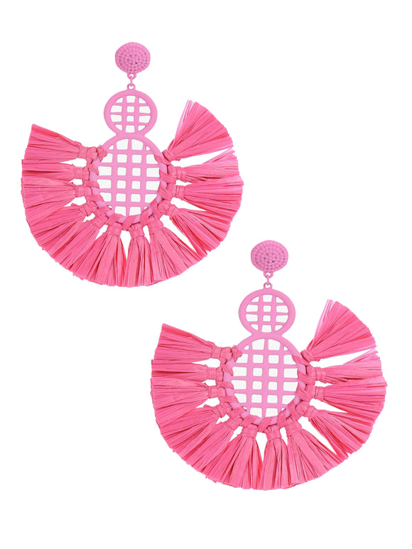 Brighten Up Pink Earrings