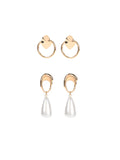 Everyday Essential Earrings- Set Of 2
