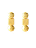 Impression Gold Earrings