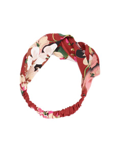 Red Floral Hairband