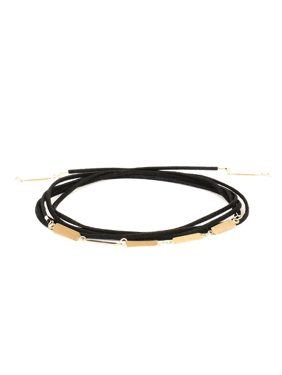 Gold Tie Up Choker
