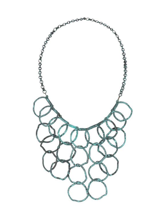 Ring Bib Necklace