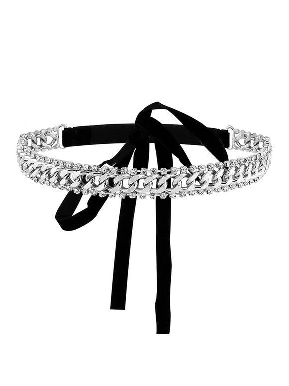 Chain Tie Up Choker
