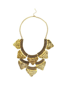 Gold Scale Necklace