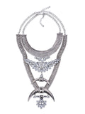 Antique Silver Divine Necklace