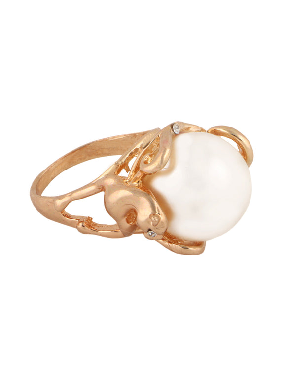 Pearl Encrusted Ring