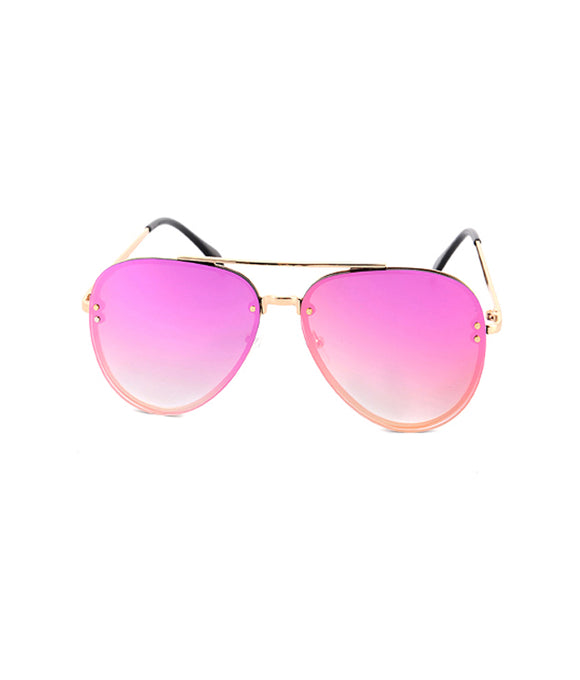 Blush Reflector Sunglasses