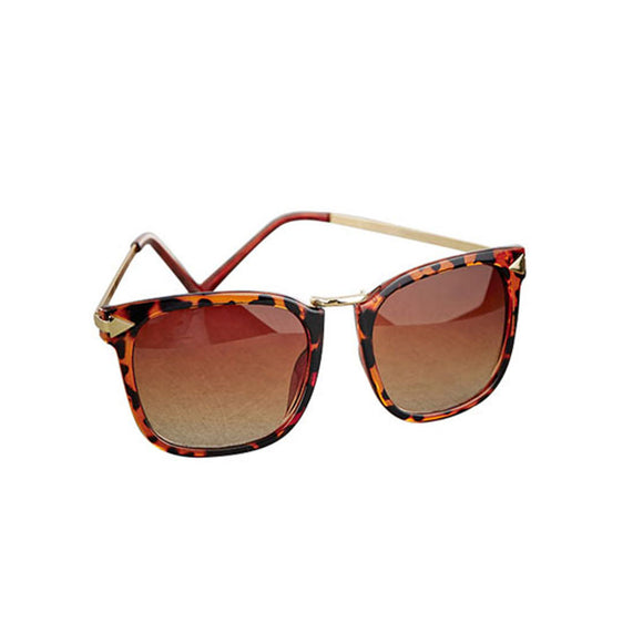 Tortoise Metal Bridge Sunglasses