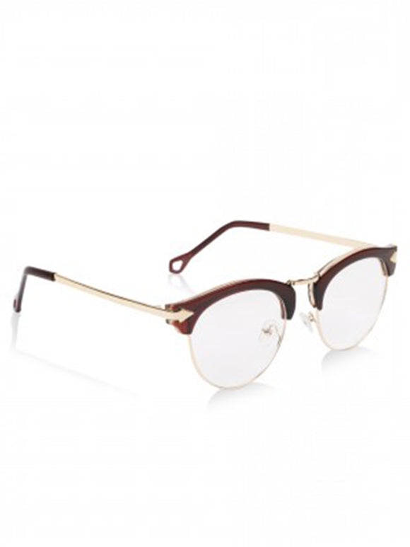 Sleek Mocha Glass Frames