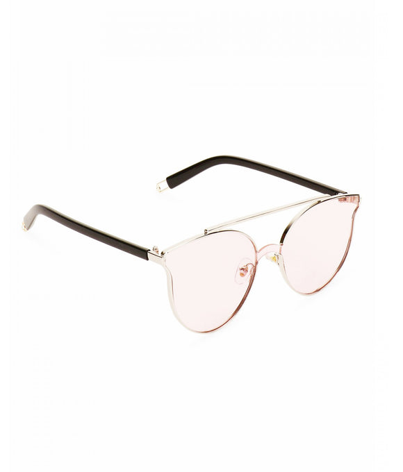 Rose Metal Bridge Sunglasses