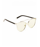 Green Metal Bridge Sunglasses