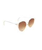 Tawny Metallic Glide Sunglasses