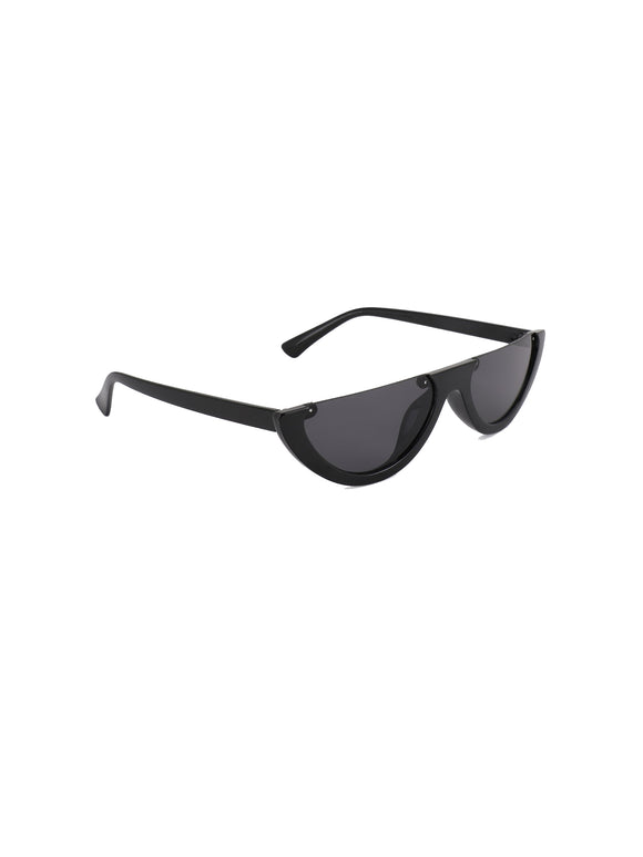 Half Moon Black Sunglasses