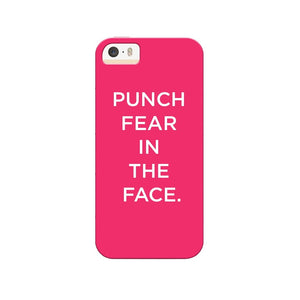 Punch Fear In The Face Phone Cover