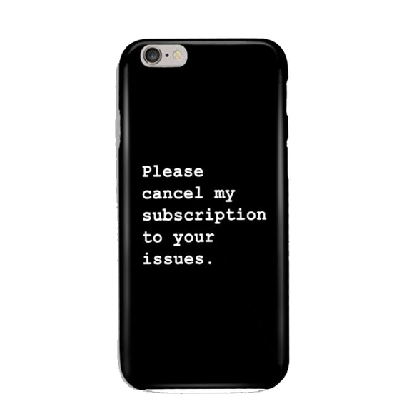 Cancel My Subscriptions Phone Cover