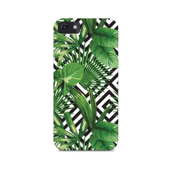 Tropical Monochrome Phone Cover